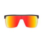 Slnečné okuliare SPY FLYNN - Black/white Red - happy