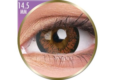 Phantasee Big Eyes - Angel Hazel (2 šošovky mesačné) - nedioptrické