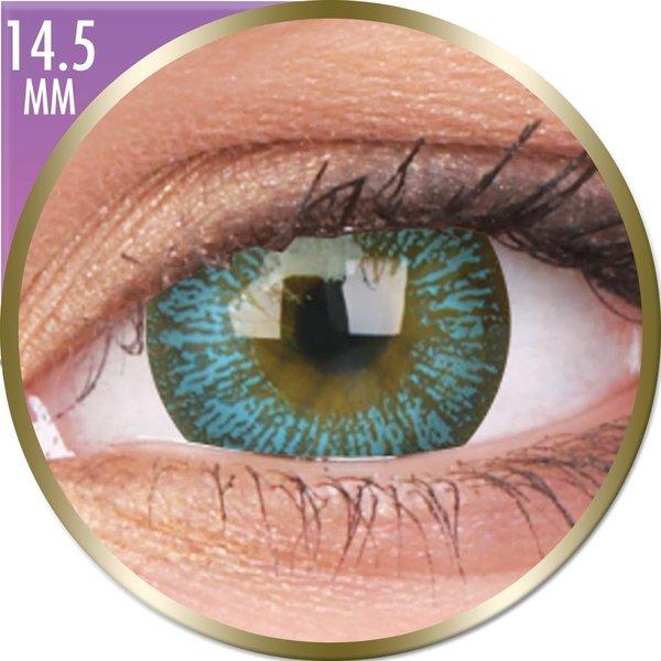 Phantasee Big Eyes - Maya Blue (2 šošovky mesačné) - nedioptrické - dopredaj