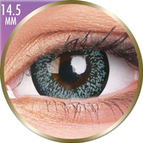 Phantasee Big Eyes - Pearl Grey (2 šošovky mesačné) - dioptrické - dopredaj