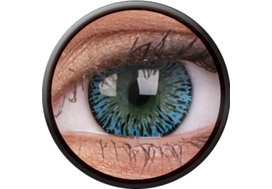 ColourVue Elegance - Aqua (2 šošovky trojmesačné) - dioptrické - poškodený obal