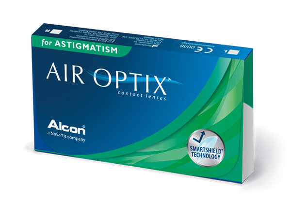 AIR OPTIX for ASTIGMATISM (6 šošoviek) Dopredaj skladu!!!