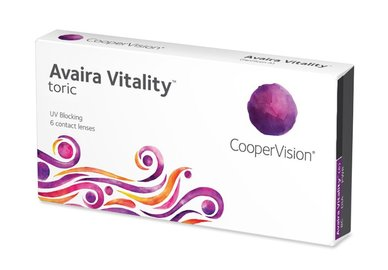 Avaira Vitality Toric (6 šošoviek)