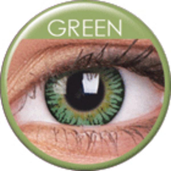 ColourVue 3 Tones - Green (2 šošovky trojmesačné) - nedioptrické - poškodený obal