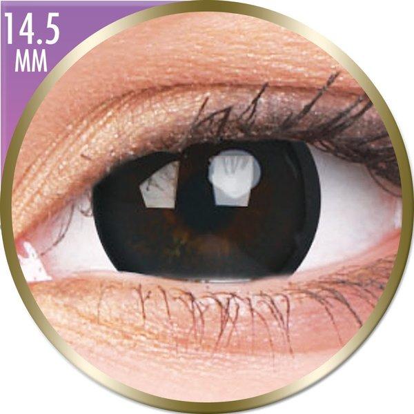 Phantasee Big Eyes - Brilliant Black (2 šošovky mesačné) - dioptrické - poškodený obal