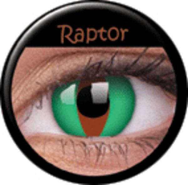 ColourVue Crazy šošovky - Raptor (2 ks trojmesačné) - nedioptrické