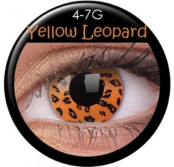 ColourVue Crazy šošovky - Yellow Leopard (2 ks trojmesačné) - nedioptrické - exp.11/2019