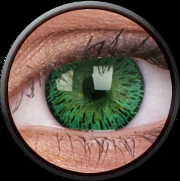 ColourVue Elegance - Green  (2 šošovky trojmesačné) - dioptrické - exp.rok 2017