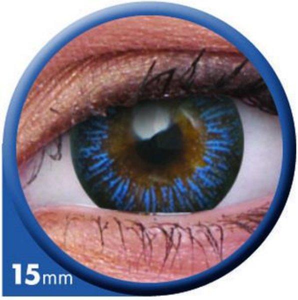 ColourVue Big Eyes - Enchanter Blue (2 šošovky trojmesačné) - nedioptrické - výpredaj exp.2020