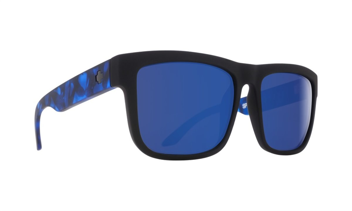 300145494 Slnečné okuliare SPY DISCORD Soft Matte Black - Cena 103,20 € K ...