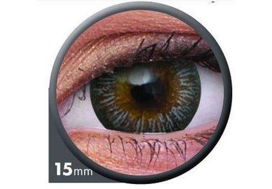 ColourVue Big Eyes - Enchanter Grey (2 šošovky trojmesačné) - dioptrické - výpredaj exp.2020