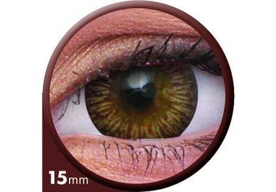 ColourVue Big Eyes - Enchanter Brown (2 šošovky trojmesačné) - nedioptrické