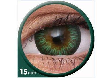 ColourVue Big Eyes - Enchanter Green (2 šošovky trojmesačné) - dioptrické - výpredaj exp.2020
