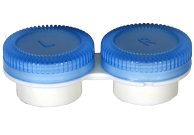 Puzdro k vibračným sadám průhledné- náhradné - modré