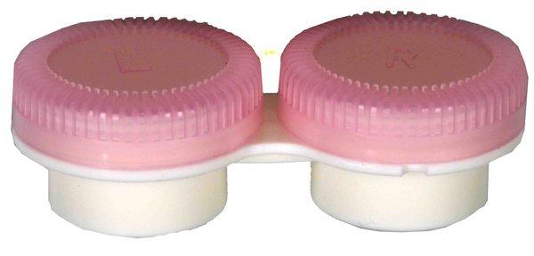 Puzdro k vibračným sadám průhledné- náhradné - ružové