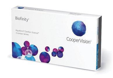 Biofinity (3 šošovky) - poškodený obal -4,00