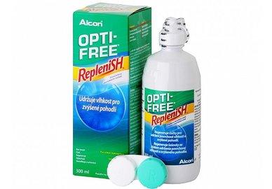 Opti-Free RepleniSH 300 ml s púzdrom - poškodený obal