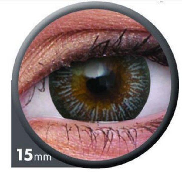 ColourVue Big Eyes - Enchanter Grey (2 šošovky trojmesačné) - nedioptrické