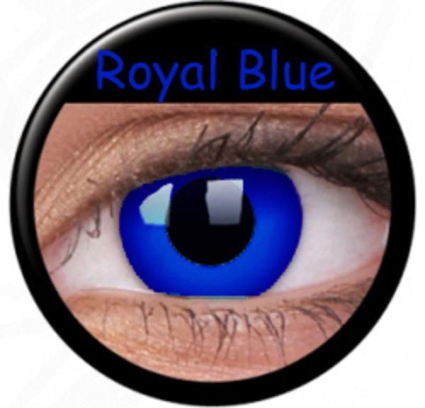 ColourVue Crazy šošovky - Psylocke (Royal Blue) (2 ks ročné) - nedioptrické - poškodený obal