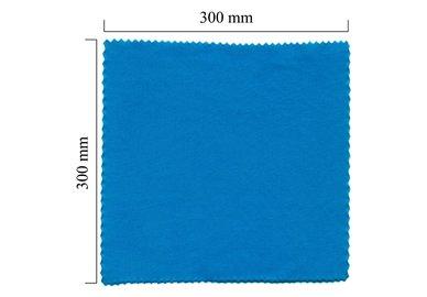 Handričku na okuliare z mikrovlákna jednofarebný - modrý 300x300