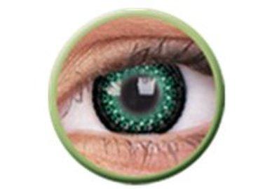 ColourVue Eyelush - Green (2 šošovky trojmesačné) - dioptrické - výpredaj exp.2020