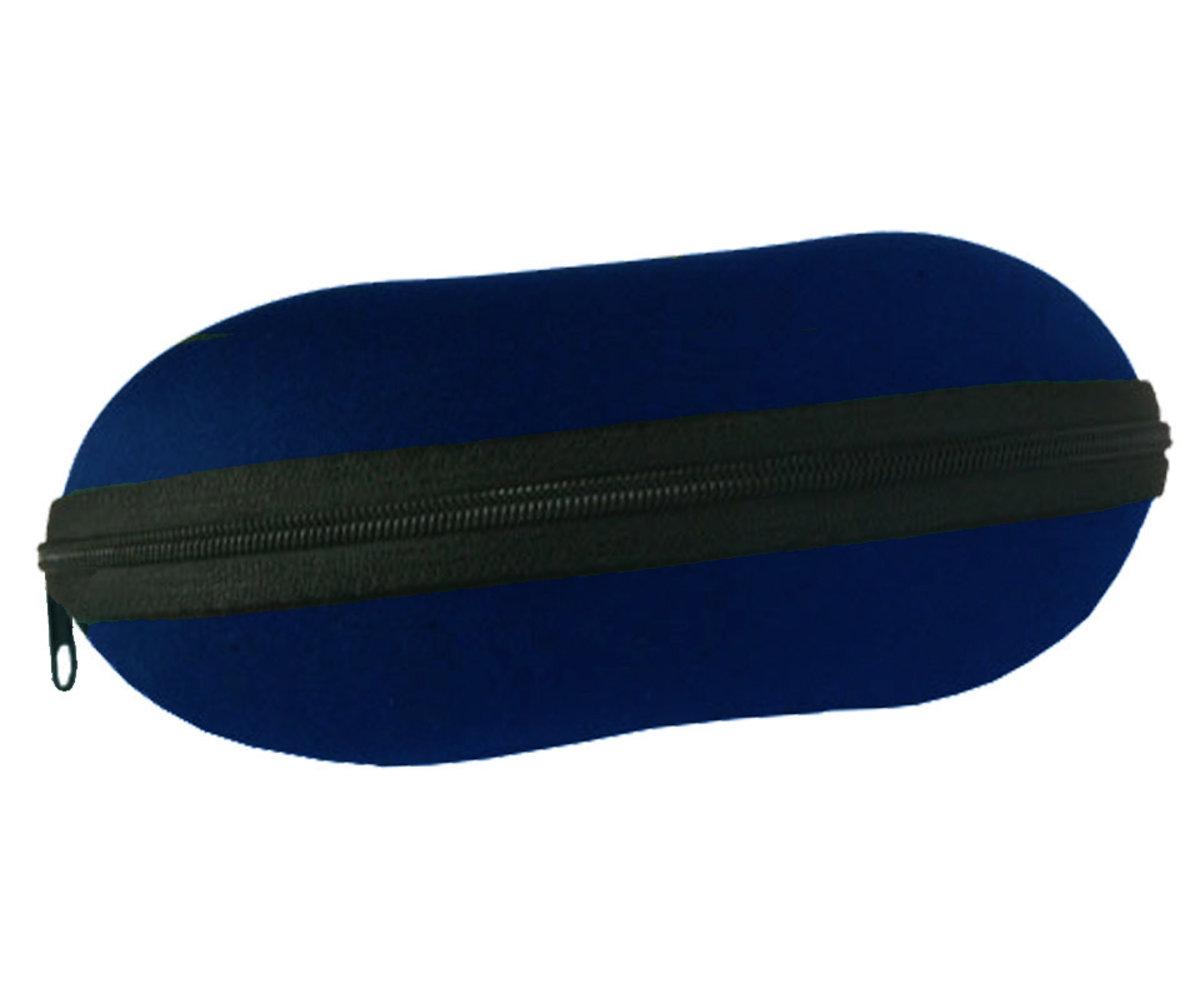 71e9f3f64 Puzdro na okuliare so zipsom - tmavo modre - Cena 5,76 € K-Šošovky.sk