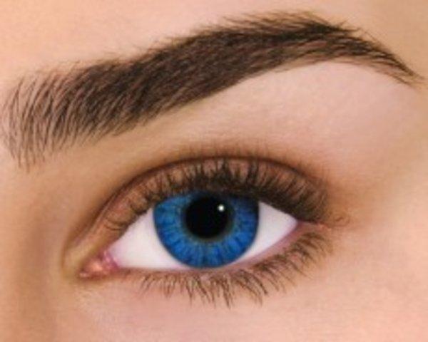 Air Optix Colors - Brilliant Blue (2 šošovky mesačné) - nedioptrické - poškodený obal