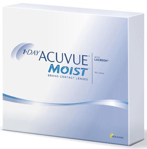 1-Day Acuvue Moist (90 šošoviek) - exp.01/21