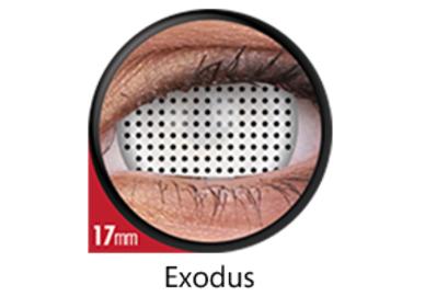 ColourVue Crazy šošovky 17 mm - Exodus (2 ks ročné) - nedioptrické