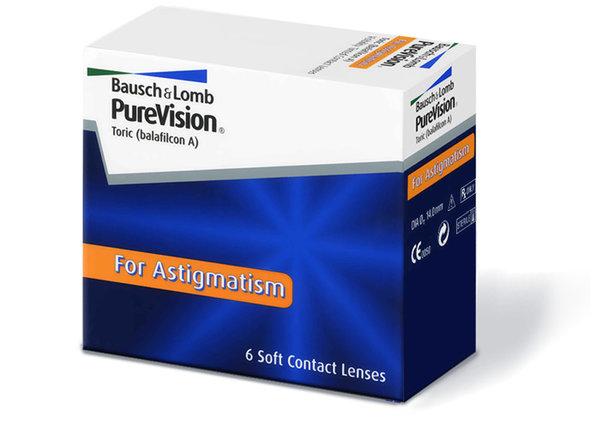 PureVision Toric (6 šošoviek) - výpredaj