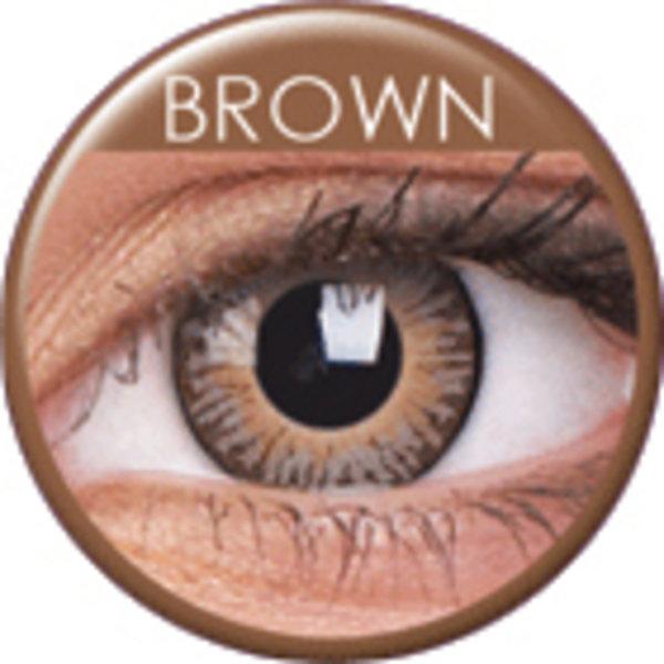 ColourVue 3 Tones - Brown (2 šošovky trojmesačné) - nedioptrické - exp.11/2019