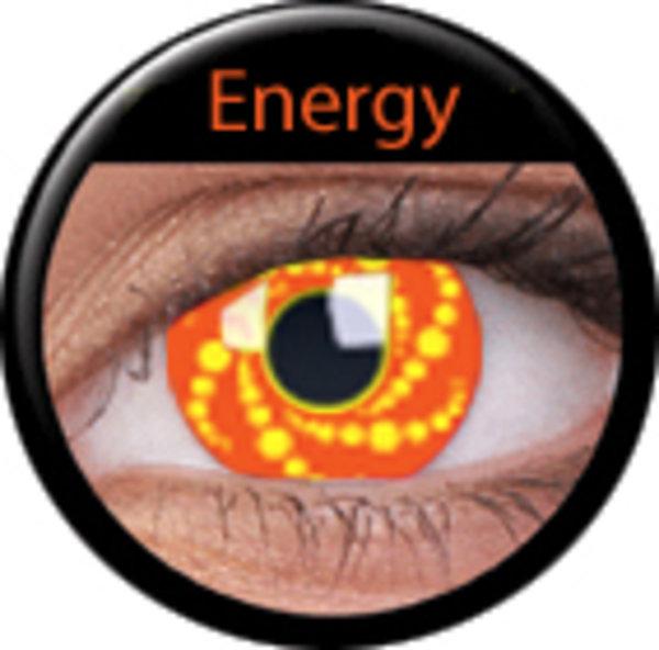 ColourVue Crazy šošovky - Energy (2 ks trojmesačné) - nedioptrické - ex.4/2020