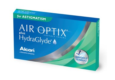 Air Optix plus HG for Astigmatism (6 šošoviek)