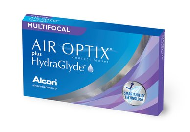 Air Optix plus HG Multifocal (6 šošoviek)