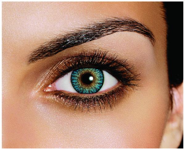 FreshLook ColorBlends - Turquoise (2 šošovky mesačné) - nedioptrické