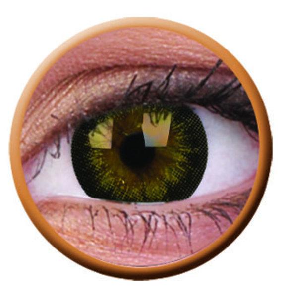 ColourVue Big Eyes - Georgeous Grey (2 šošovky trojmesačné) - nedioptrické