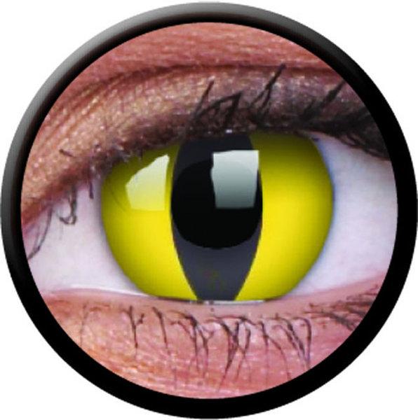 ColourVue Crazy šošovky - Cat Eye (2 ks ročné) - nedioptrické