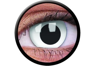 ColourVue Crazy šošovky - Cross Eyed (2 ks ročné) - nedioptrické