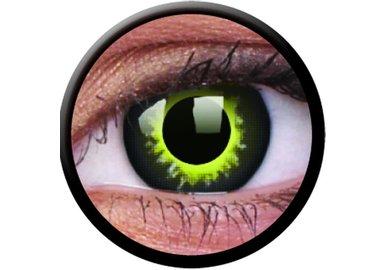 ColourVue Crazy šošovky - Eclipse (2 ks ročné) - nedioptrické