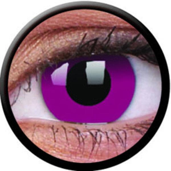 ColourVue Crazy šošovky - Purple (2 ks ročné) - nedioptrické