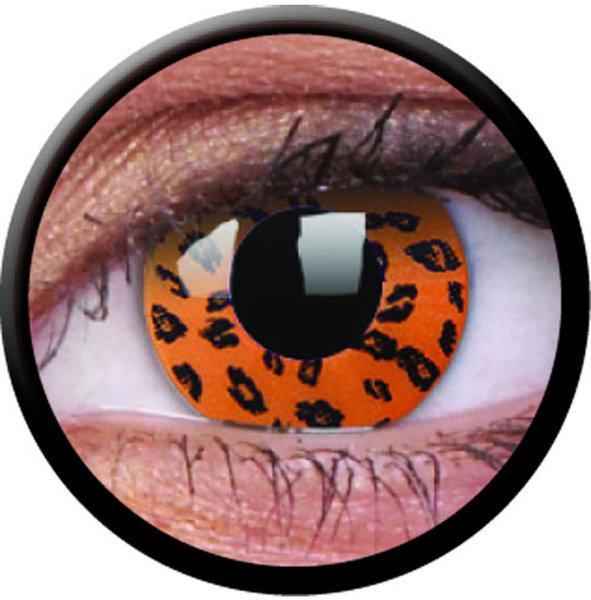ColourVue Crazy šošovky - Yellow Leopard (2 ks ročné) - nedioptrické - exp.04/2020