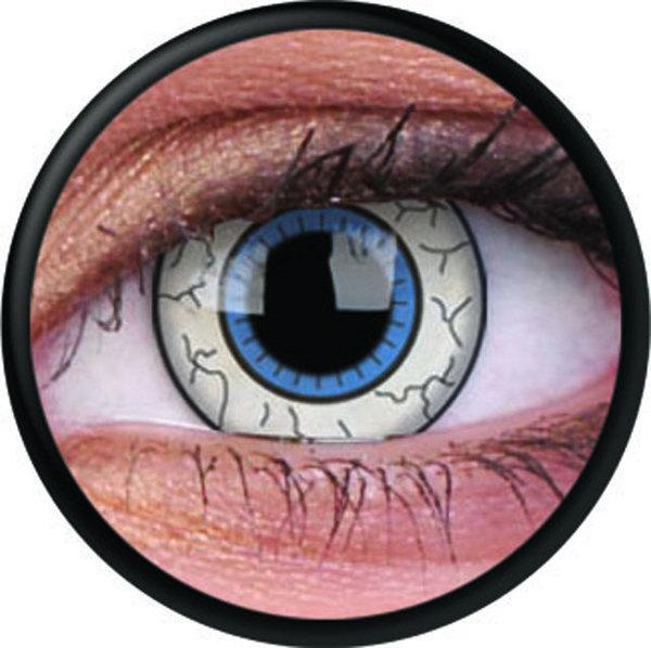 ColourVue Crazy šošovky - Comic Eye (2 ks trojmesačné) - nedioptrické