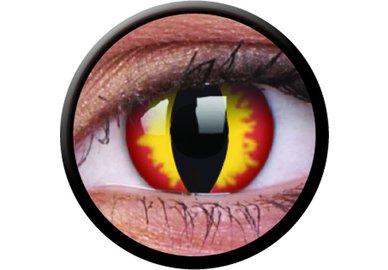 ColourVue Crazy šošovky - Dragon Eyes (2 ks trojmesačné) - dioptrické - exp.04/2020