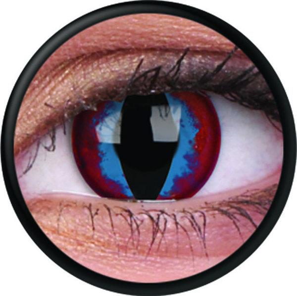ColourVue Crazy šošovky - Dream Slayer (2 ks trojmesačné) - nedioptrické