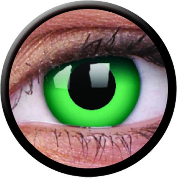 ColourVue CRAZY ŠOŠOVKY - Emerald (2 ks trojmesačné) - nedioptrické