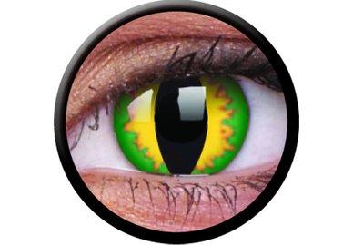 ColourVue Crazy šošovky - Green Dragon (2 ks trojmesačné) - dioptrické - dopredaj
