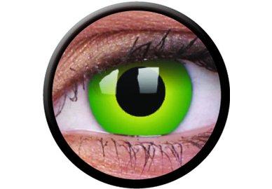 ColourVue CRAZY ŠOŠOVKY - Hulk Green (2 ks trojmesačné) - nedioptrické