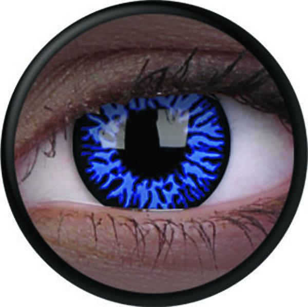 ColourVue Crazy šošovky UV svietiace - Glow Drax  (2 ks ročné) - nedioptrické