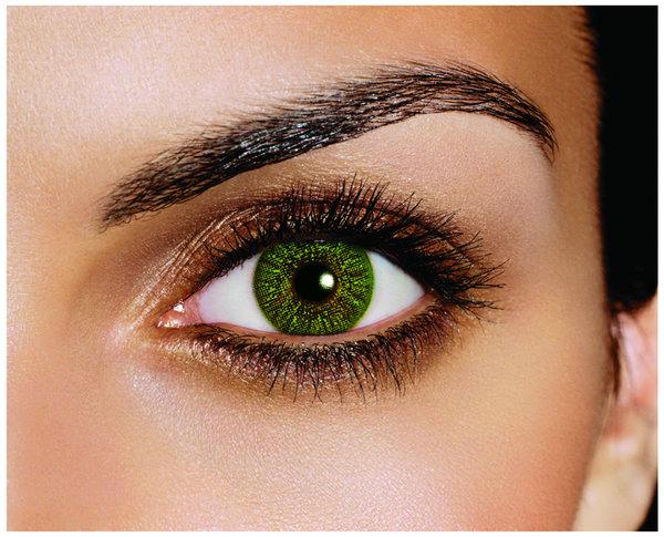 FreshLook Colors - Green (2 šošovky mesačné) - dioptrické