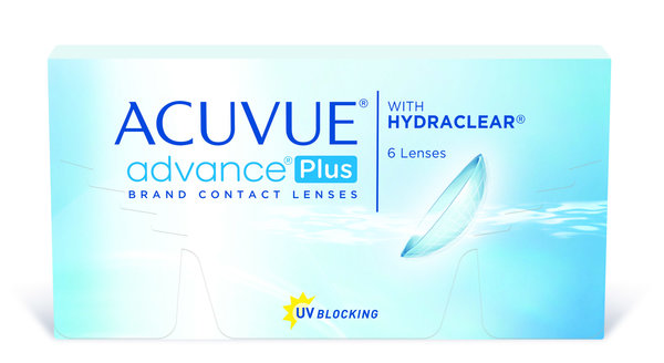Acuvue Advance Plus (6 šošoviek) - expirace 12/2016